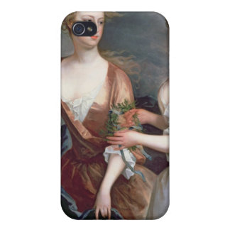 Martha and Teresa Blount, 1716 Cover For iPhone 4