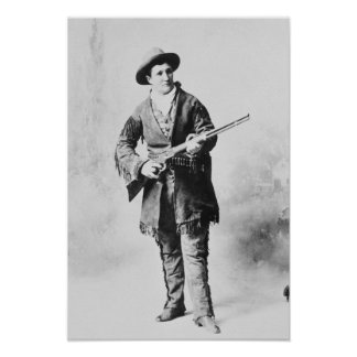 Martha Canary  c.1895 Poster