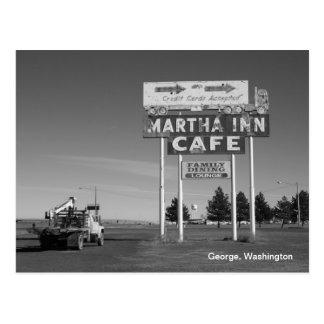 Martha Inn- George, Washington Postcard