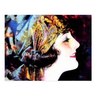 Martha Mansfield, a silent film legend Postcard