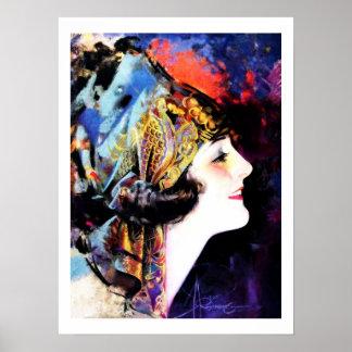 Martha Mansfield, Vintage Poster