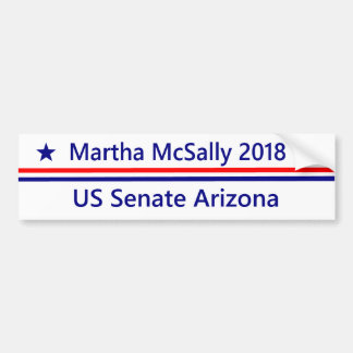 Martha McSally  Senate 2018 Arizona Bumper sticker