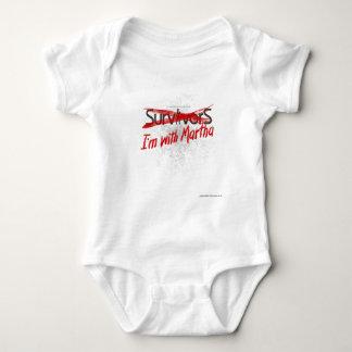 Martha vs Survivors Baby Bodysuit