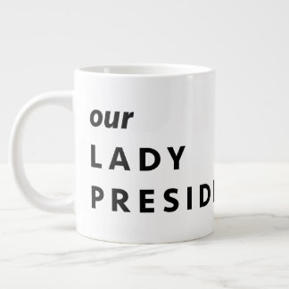MARTHA WASHINGTON, Our Lady Presidentess Large Coffee Mug
