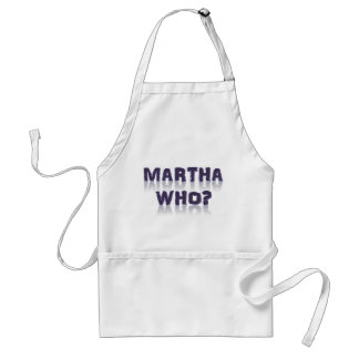 Martha Who? Standard Apron