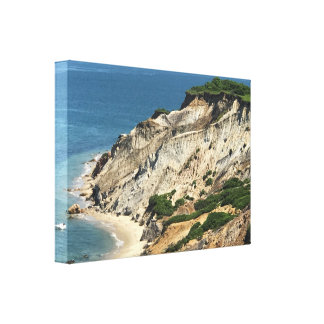 Martha's Vineyard  - Aquinnah Clay Cliffs Canvas Print