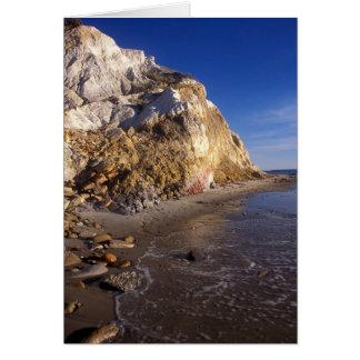 Marthas Vineyard Aquinnah Clay Cliffs Card