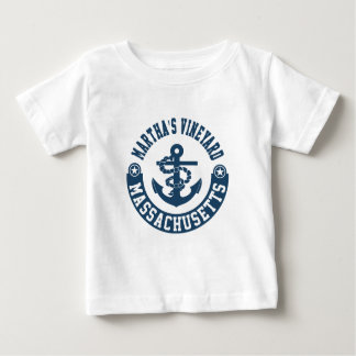 Martha's Vineyard Massachusetts Baby T-Shirt