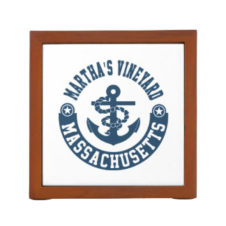 Martha's Vineyard Massachusetts Desk Organizer