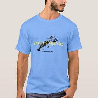Martha's Vineyard Massachusetts Lobster T Shirt