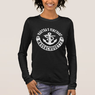 Martha's Vineyard Massachusetts Long Sleeve T-Shirt