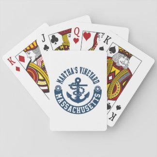 Martha's Vineyard Massachusetts Playing Cards