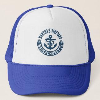 Martha's Vineyard Massachusetts Trucker Hat