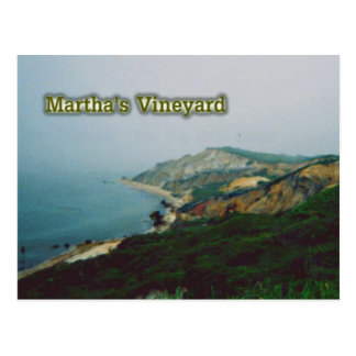 Martha's Vineyard Postcard