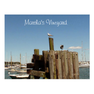 Martha's Vineyard Postcard