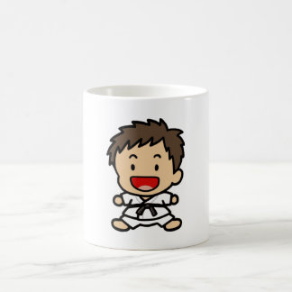 Martial Art Boy Mug
