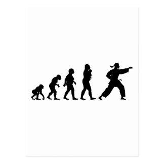Martial Art Postcard