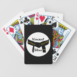 Martial Arts 1st Degree Black Belt Playing Cards