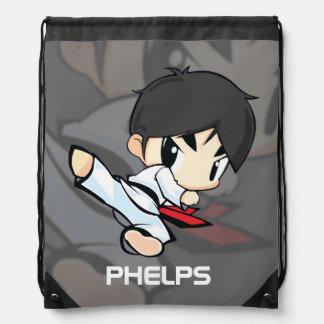 Martial Arts Bag -Drawstring Backpack