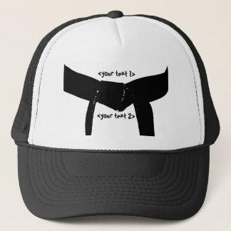 Martial Arts Basic Black Belt Hat