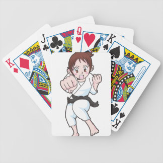 Martial Arts Bicycle Playing Cards