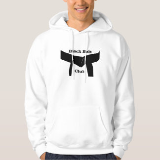 Martial Arts Black Belt Club Hoodie Sweatshirt