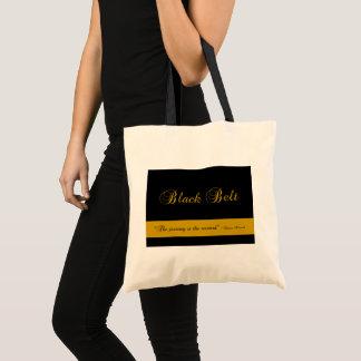 Martial Arts Black Belt Journey Tote Bag