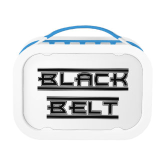 Martial Arts Black Belt Lunch Box