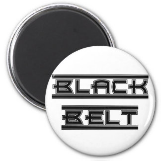 Martial Arts Black Belt Magnet