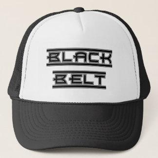 Martial Arts Bold Black Belt Hat