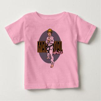 Martial Arts Boy Baby T-Shirt