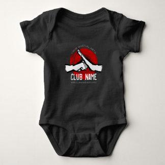 Martial Arts Club Baby Bodysuit