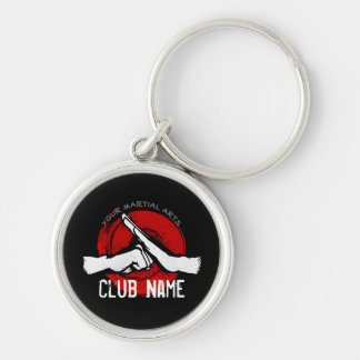 Martial Arts Club Keychain