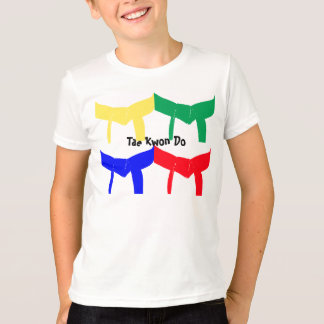 Martial Arts Colored Belts T-Shirt-Kids T-Shirt