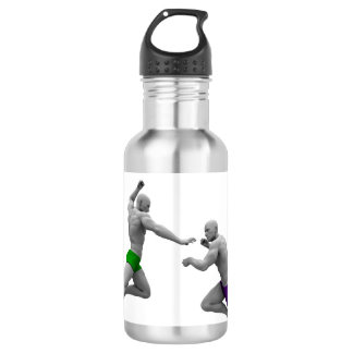Martial Arts Concept for Fighting and Protection 532 Ml Water Bottle