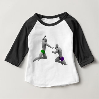 Martial Arts Concept for Fighting and Protection Baby T-Shirt