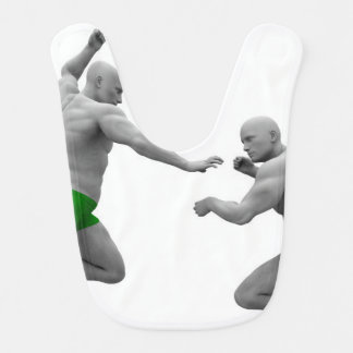 Martial Arts Concept for Fighting and Protection Bib