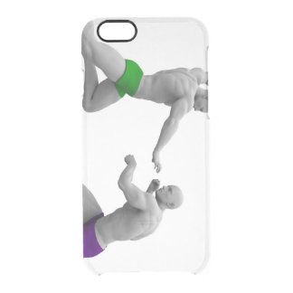 Martial Arts Concept for Fighting and Protection Clear iPhone 6/6S Case