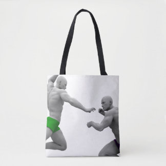 Martial Arts Concept for Fighting and Protection Tote Bag