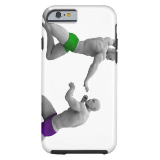 Martial Arts Concept for Fighting and Protection Tough iPhone 6 Case
