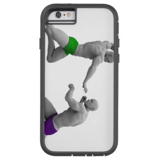 Martial Arts Concept for Fighting and Protection Tough Xtreme iPhone 6 Case