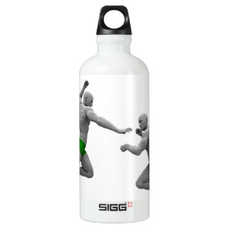 Martial Arts Concept for Fighting and Protection Water Bottle