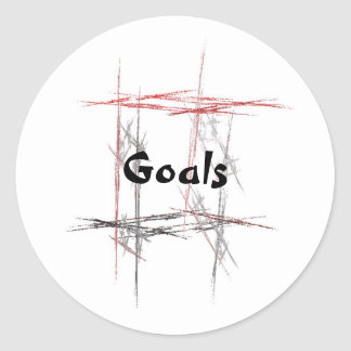 Martial Arts Goals Sticker