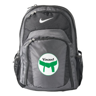 Martial Arts Green Belt Backpack