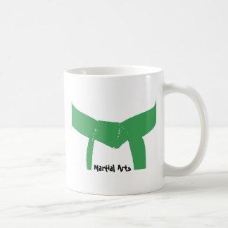 Martial Arts Green Belt Coffee Mug