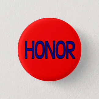 Martial Arts Honor Button