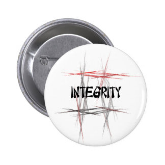 Martial Arts Integrity 2 Inch Round Button