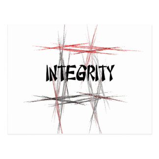 Martial Arts Integrity Postcard