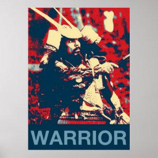 Martial Arts Japanese warrior Samurai Poster