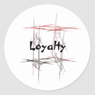Martial Arts Loyalty Stickers